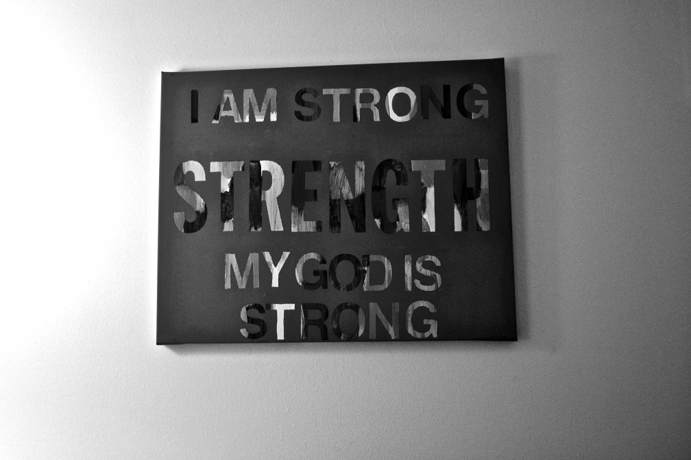 A poster Taylor has on her wall.